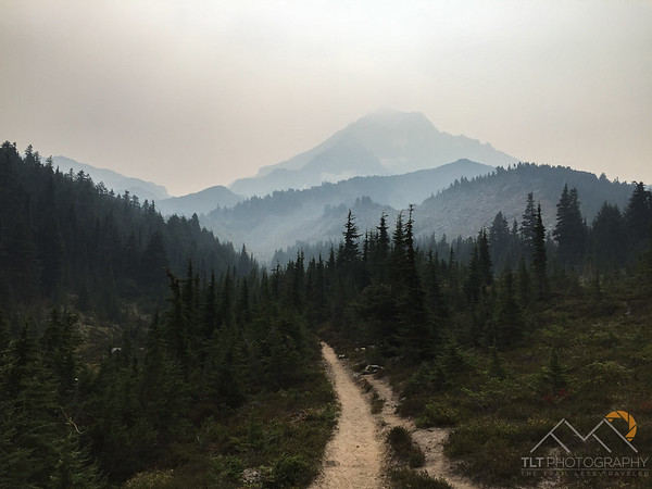 Mt. Hood in a lot of smoke from the fires on Mt. Adams. Please Follow Me! https://tlt-photography.smugmug.com/