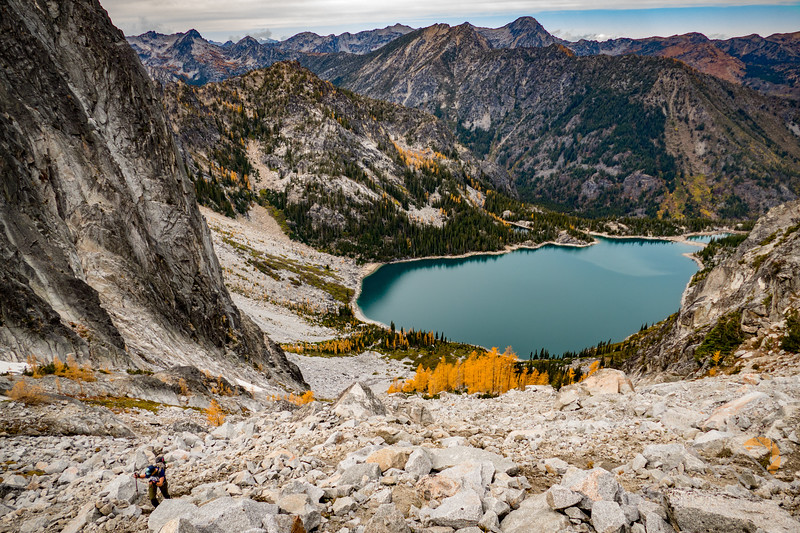 Colchuck lake below Aasgard Pass in the Enchentments. Please Follow Me! https://tlt-photography.smugmug.com/