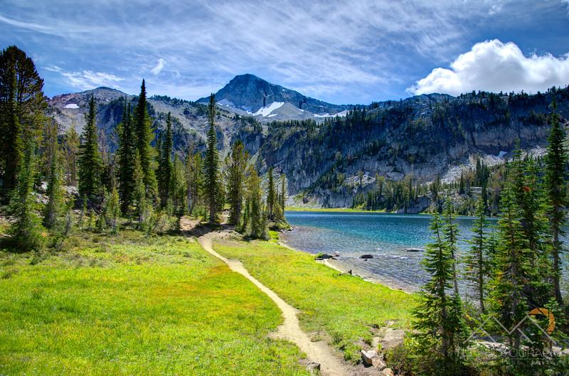 Eagle Cap Peak above Mirror Lake in the Wallowas. Please Follow Me! https://tlt-photography.smugmug.com/