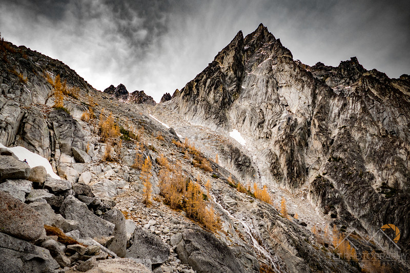 Dragontail Peak above on the ascent up Aagard Pass in the Enchantments of Washington. Please Follow Me! https://tlt-photography.smugmug.com/