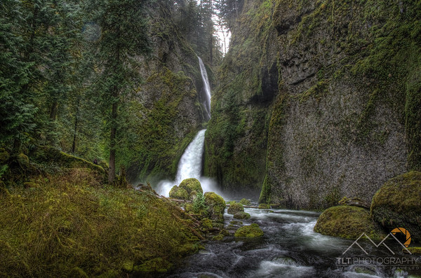 Wahclella Falls in the Columbia River Gorge of Oregon. Please Follow Me! https://tlt-photography.smugmug.com/