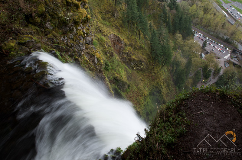 The top of Multnomah Falls in the Columbia River Gorge of Oregon. Please Follow Me! https://tlt-photography.smugmug.com/