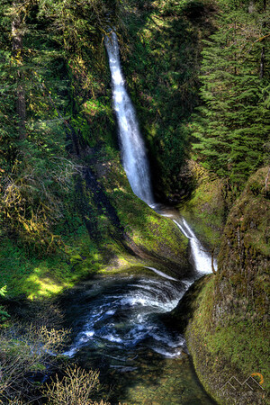 Loowit Falls along Eagle Creek in the Columbia Gorge of Oregon. Please Follow Me! https://tlt-photography.smugmug.com/