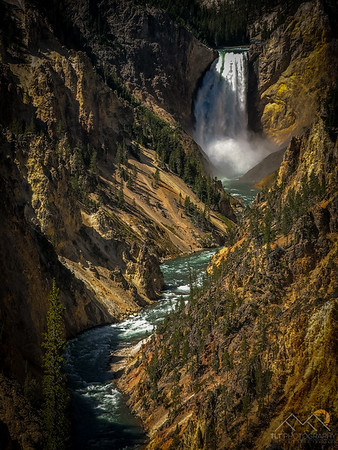 Lower Falls at the Grand Canyon of Yellowstone. Please Follow Me! https://tlt-photography.smugmug.com/