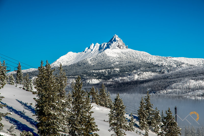 Three Fingered Jack freshly plastered with snow from Mt. Hoodoo. Please Follow Me! https://tlt-photography.smugmug.com/