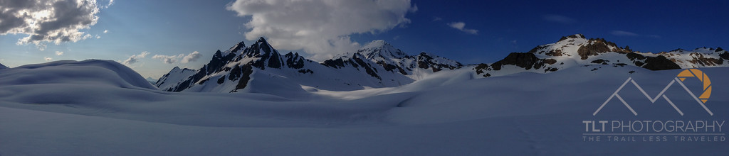 Glacier Peak panorama from the White Chuck Glacier. Please Follow Me! https://tlt-photography.smugmug.com/
