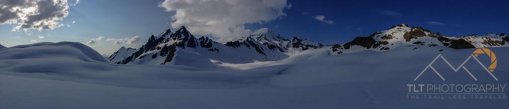 Glacier Peak panorama from the White Chuck Glacier. Please Follow Me! https://tlt-photography.smugmug.com/