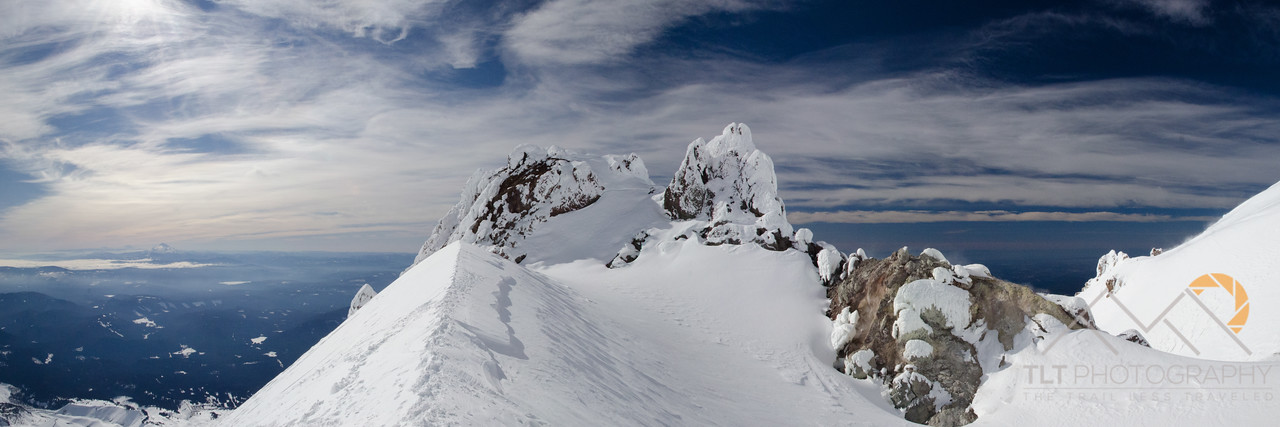 Pano of the vents on Crater Rock from the base of the Hogsback on Mt. Hood. Please Follow Me! https://tlt-photography.smugmug.com/