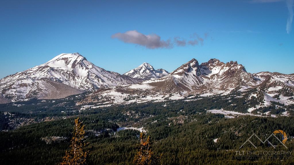 South Sister, North Sister and Broken Top from Tumalo Mountain, Oregon. Please Follow Me! https://tlt-photography.smugmug.com/