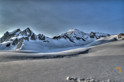 Looking up at Glacier Peak from the White Chuck Glacier where we camped. Please Follow Me! https://tlt-photography.smugmug.com/