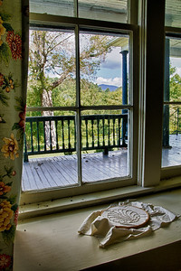 Window With a View William Alexander Stuart House Saltville, Virginia