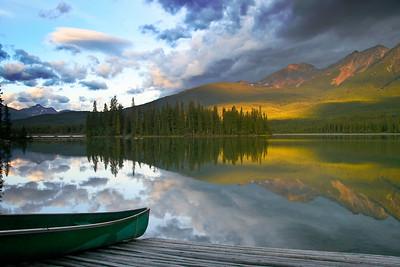Sunrise Over Patricia Lake Jasper Alberta First Place  Applachian Photography Salon