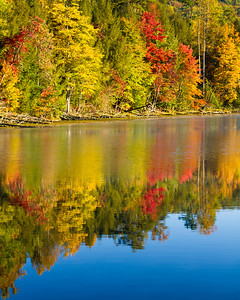 Fall Reflections Bays Mountain, Kingsport, TN