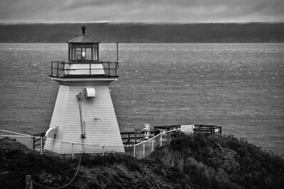 Cape Enrage Lighthouse New Brunswick
