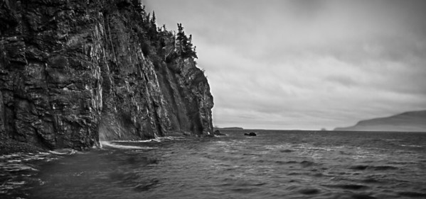 New Brunswick Coast Even stormy rainy days can be good for photography