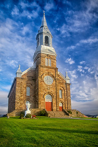 Saint Joseph's Church Cheticamp, Nova Scotia