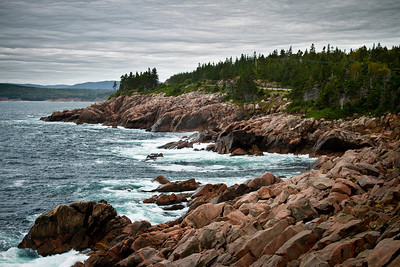 Rugged Coast of Nova Scotia