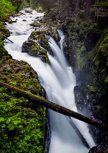 Sol Duc Falls Olympic National Park