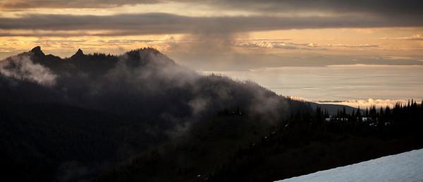 Sunset from Hurricane Ridge Olympic National Park