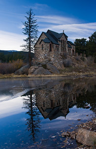 The Chapel On The Rock Just Outside Rocky Mountain National Park