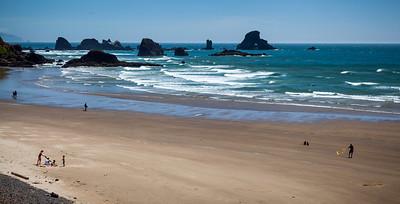 Ecola State Park Beach