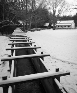 Cable Mill in Winter Cades Cove