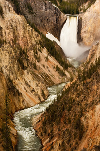 Grand Canyon of The Yellowstone and Yellowstone Falls