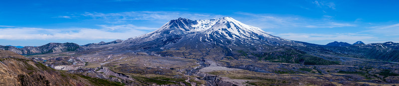 Mount Saint Helens Panorama<br /> This can be printed very wide!