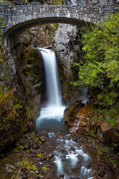 Christine Falls<br /> Mount Rainier National Park
