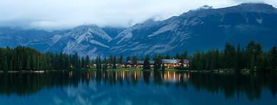 Fairmont Lodge, Lake Beauvert Jasper Alberta