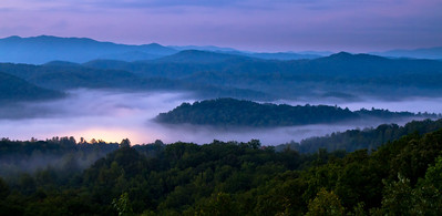 His Light Foothills Parkway near Townsend Tennessee