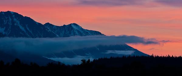 Sunrise Over Grand Tetons