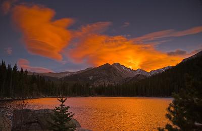 Bead Lake Sunset