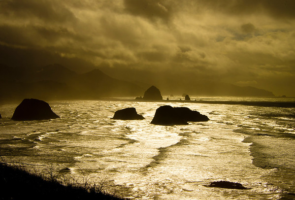 Sunlight in Canon Beach