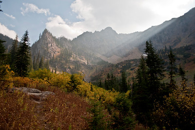 Sunlight in the Bitterroot Mountains