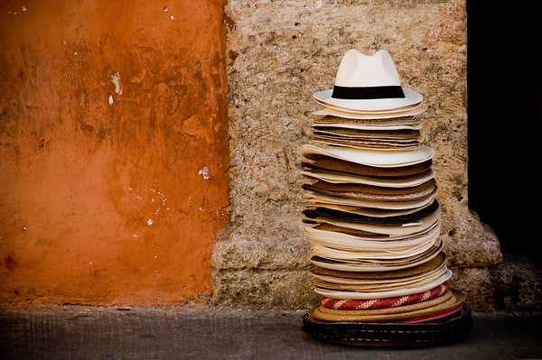 """The Hat Stack"" - Cartagena · Colombia"