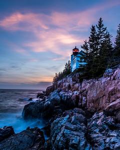 Bas Harbor LIghthousein Morning LIght
