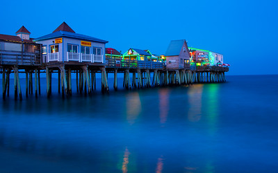 Pier at Blue Hour