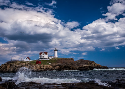 Clouds over Nubble