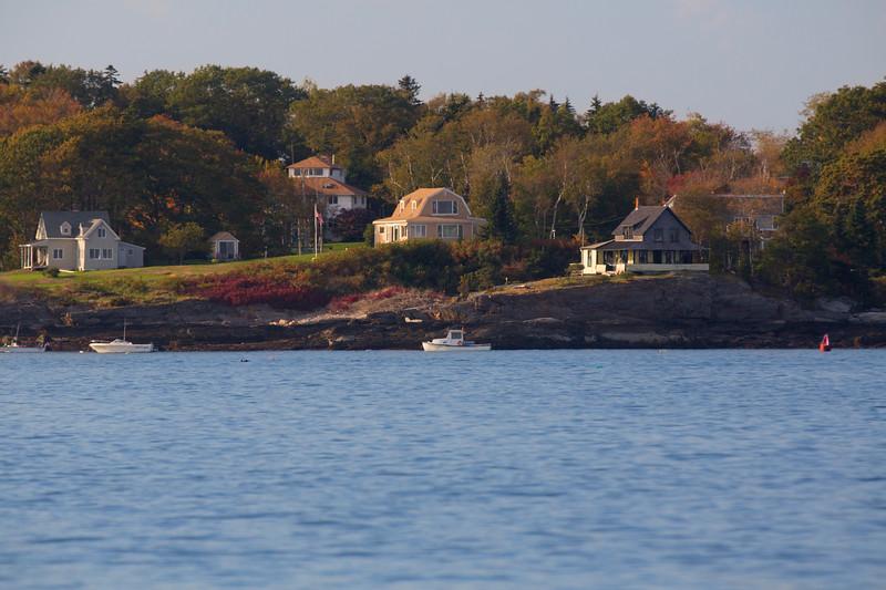 Summer Cottages, Cliff Island, Maine