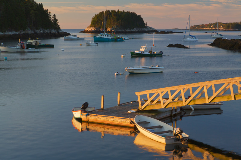 Five Islands Harbor, Georgetown, Maine