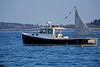 Lobster Boat, Casco Bay, Maine