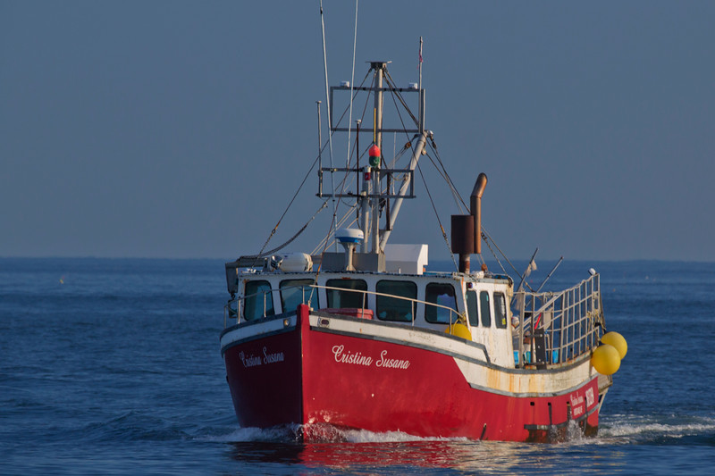 Fishing Boat, Casco Bay, Maine