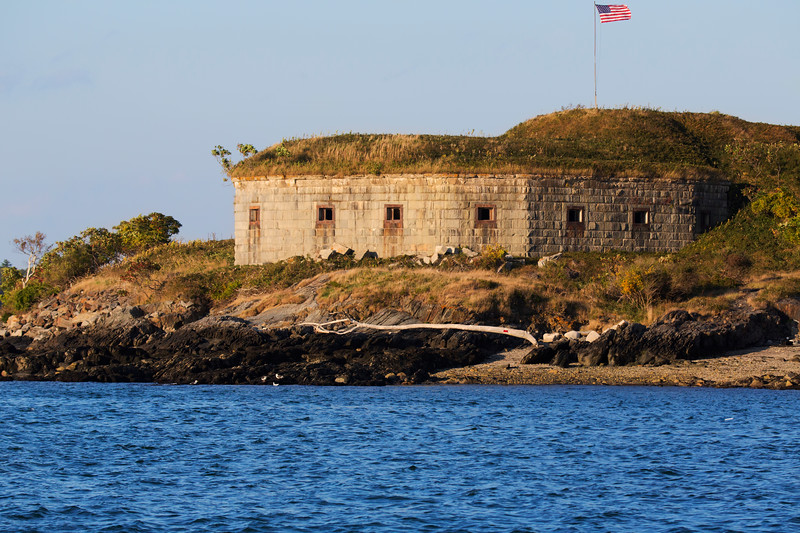 Fort Scammel, House Island, Casco Bay, Maine