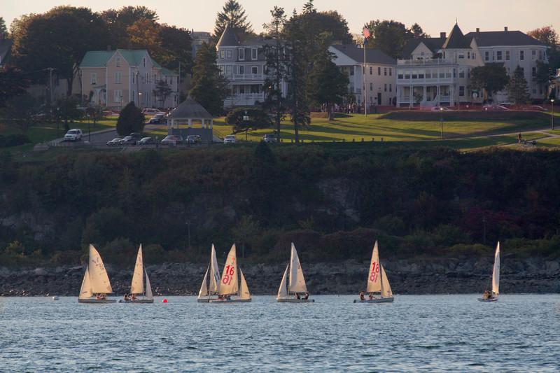 Sailboats, Portland, Maine