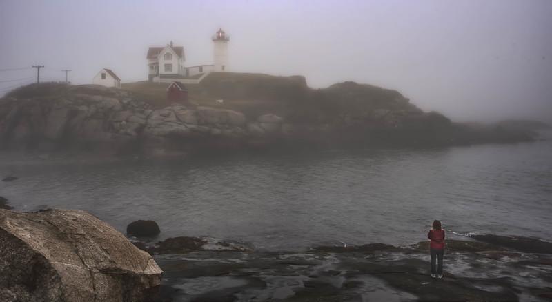 Nebble in the fog