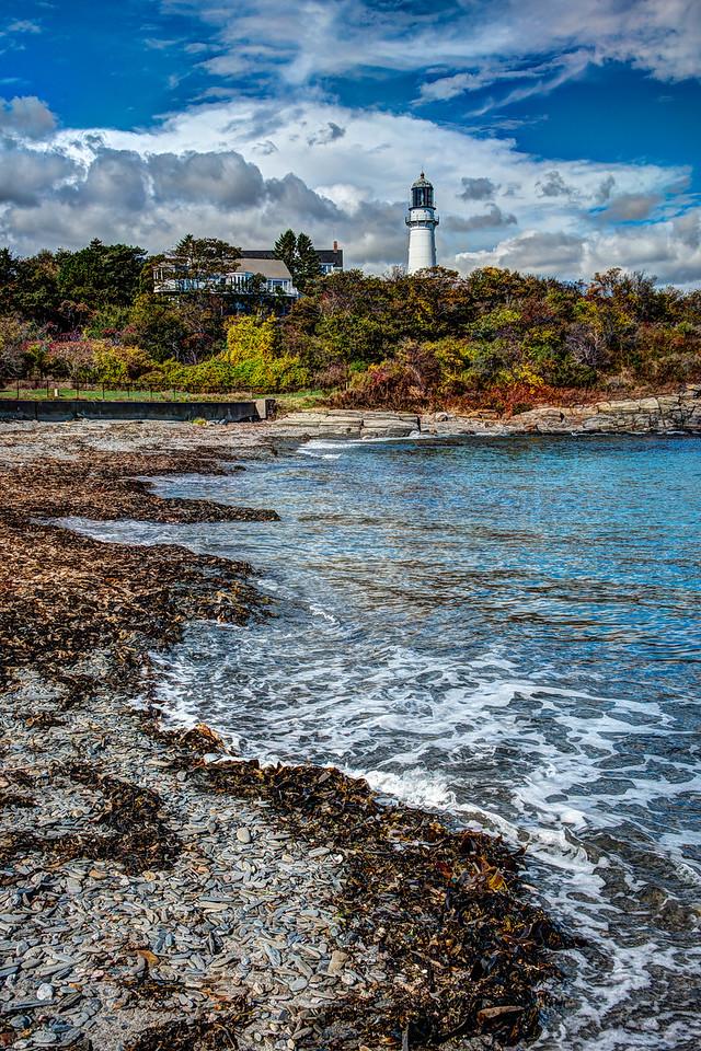 •Cape Elizabeth Light, Cape Elizabeth, Maine