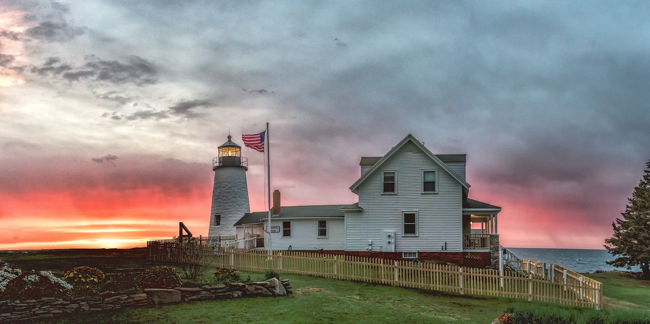 •Pemaquid Point Lighthouse, Bristol, Maine