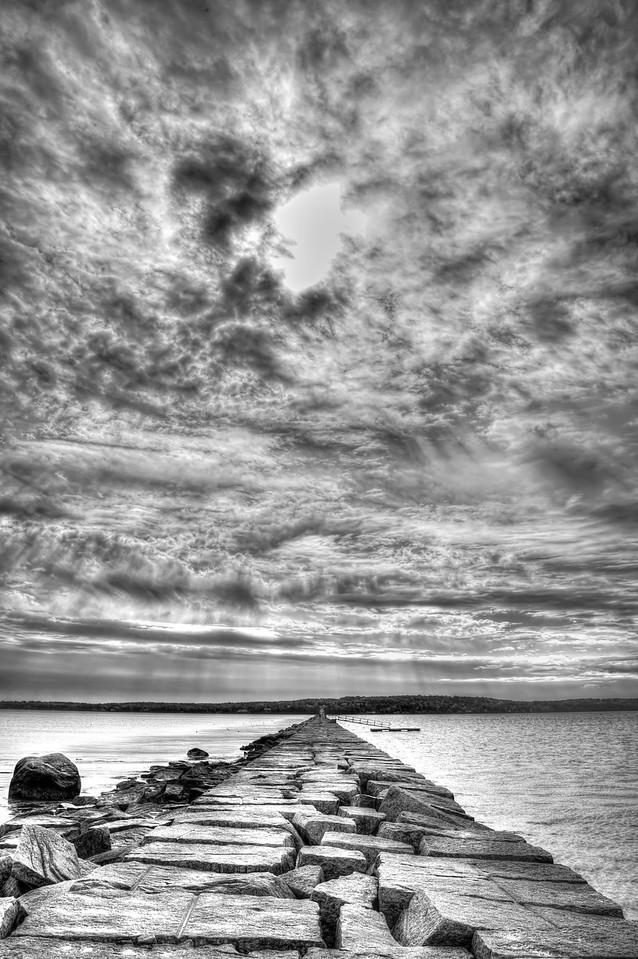 •Rockland Harbor Breakwater Light, Rockland, Maine