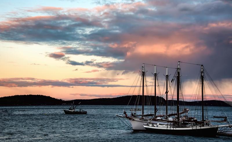 Sunset in Bar Harbor, Maine